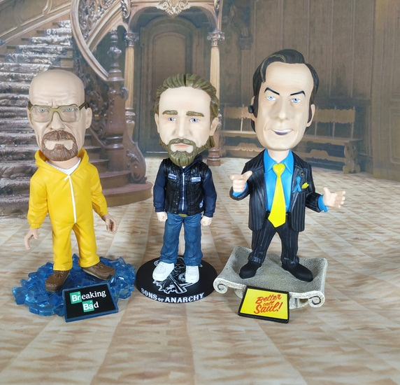 6inch 14-16cm Breaking Bad Heisenberg Action Figure Doll Cartoon PVC Jesse Pinkman Walter Model Toy Rare Collection