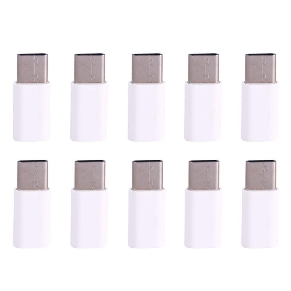 Free shipping 10PCS lot USB3 1 Type C Male to Micro USB2 0 Female Adapter Converter