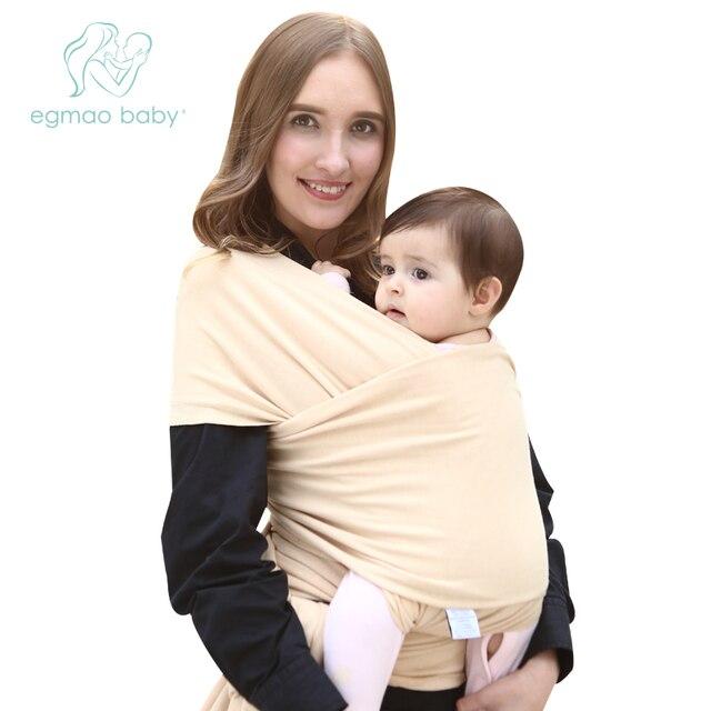 Bambino appena nato Swaddle Portante di Bambino Fionda Zaino 0 3 Anni di Cotone Traspirante Morbido Seggiolino Da Anca Hipseat Coperta regolare Infantile Del Bambino Wrap
