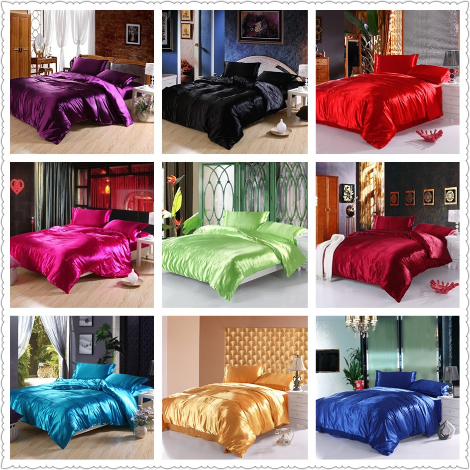 popular bright colorful comfortersbuy cheap bright colorful  - bright colored luxurious silk cotton queen size bed linens bedding set hometextile  pieces duvet