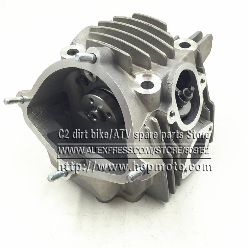 YX 160CC Cilinderkop voor motor Yinxiang 160 inclusief ventiel en nokkenas