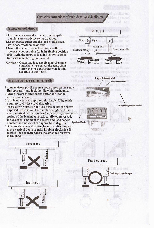 Najnowszy Laser Defu Car Key Kopiowanie kopiowanie maszyna 368a z - Narzędzia ręczne - Zdjęcie 6