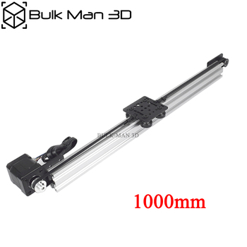 Belt Driven Linear Actuator Kit with Nema17 Stepper Motor,Z Axis DIY CNC Sliding Table Lead Screw Travel - 1000mm