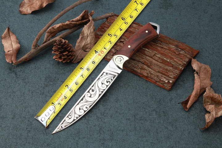 High Quality Outdoor Fixed Blade font b Knife b font 5CR15MOV Blade Survival Straight font b