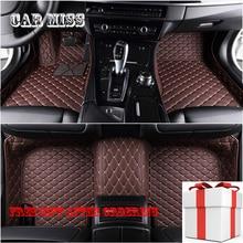 цена на custom car floor mats for cadillac escalade srx CTS CT6 SLS ATS ATSL XTS XT5 CT6 all models auto accessories car mats
