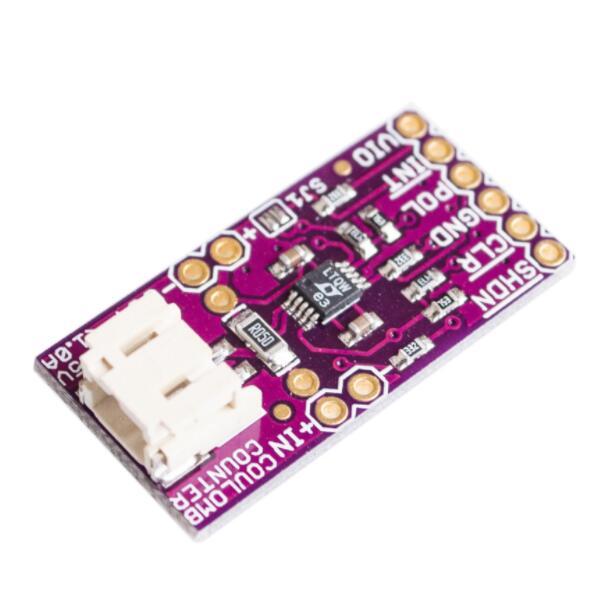 Intelligente 10 Pz Intelligente Elettronica Ltc4150 Coulomb Contatore Violenza Modulo Di Rilevamento Sensore Di Rilevamento Della Corrente Di Carica Della Batteria