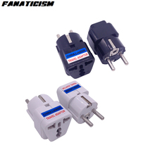 Fanaticism Высокое качество Универсальный 4,8 мм булавки Великобритания/США/AU в ЕС штекер зарядное устройство с адаптером для путешествий Электрический адаптер конвертер гнездо