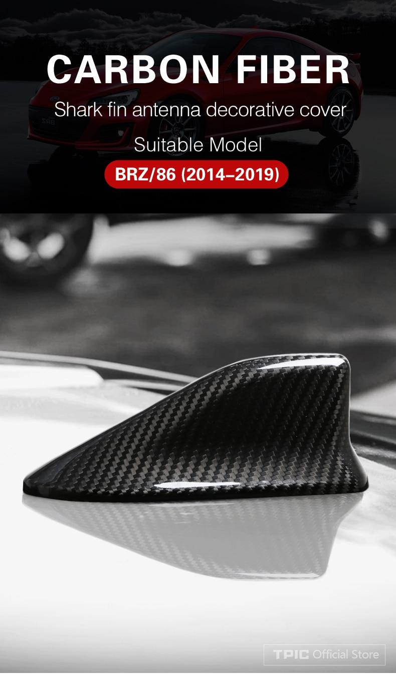 2018-2020 Black XT5 AIRSPEED Carbon Fiber Car Shark Fin Antenna Cover Radio Signal Base for Cadillac XT4 2016-2019 and Camaro Accessories