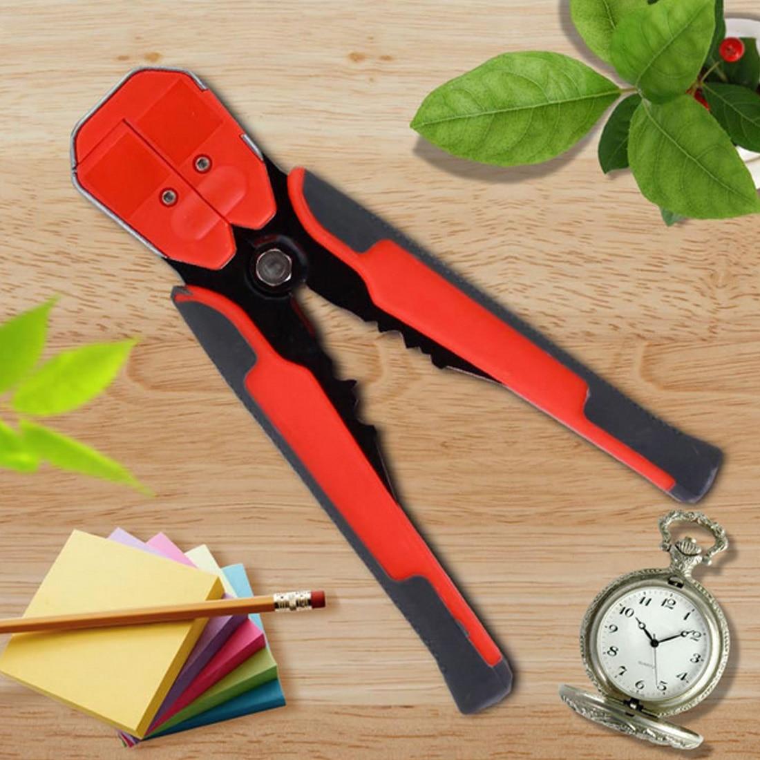 Ehrlichkeit Abisolierzange 0,2-6,0mm Gerade Schneiden Crimpwerkzeuge 1 Stücke Hs-d1 Multifunktionale Kabel Abisolieren Werkzeuge