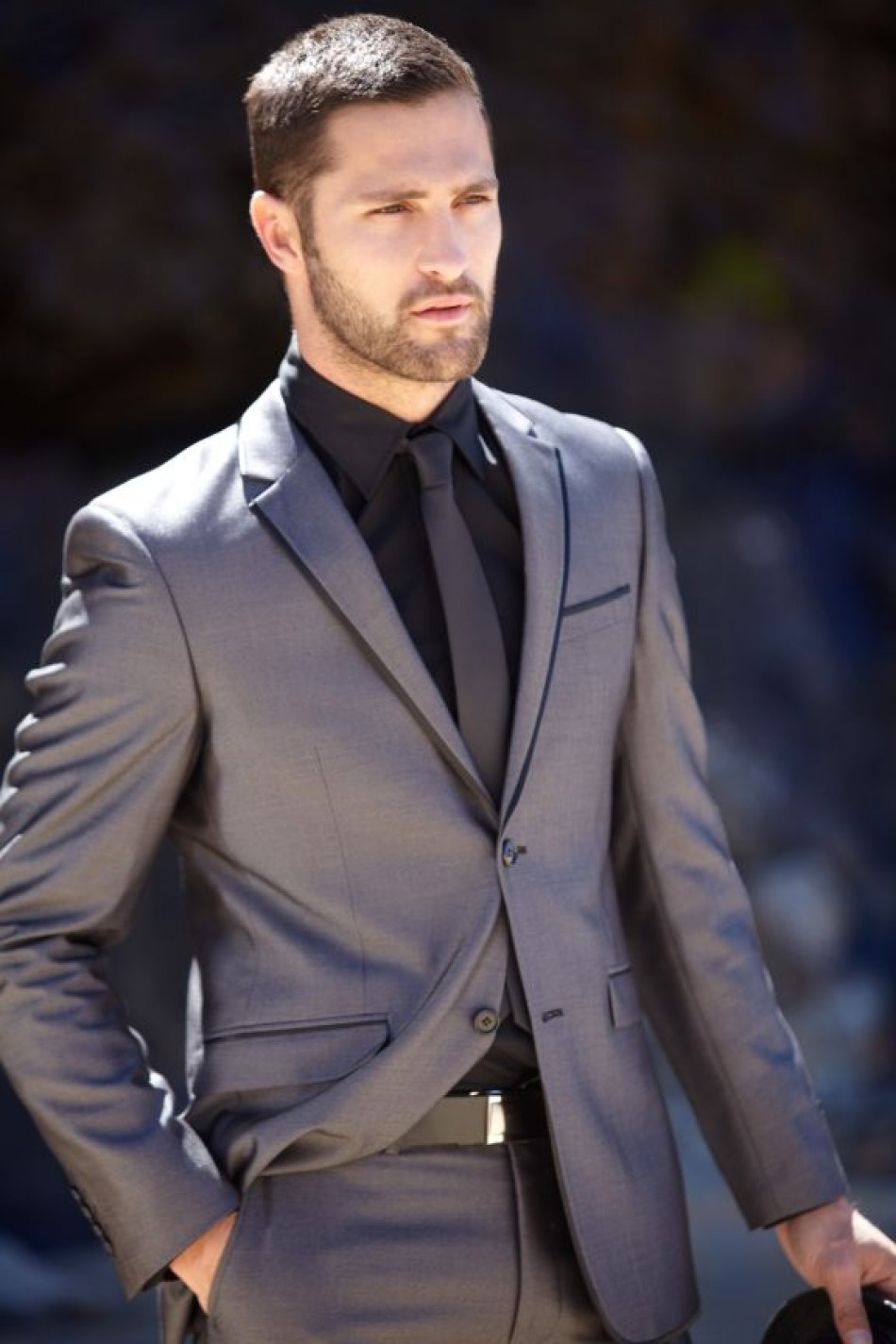 Latest Coat Pant Designs Silver Gray Custom Formal Suits Classic Slim Fit Wedding Suit For Men