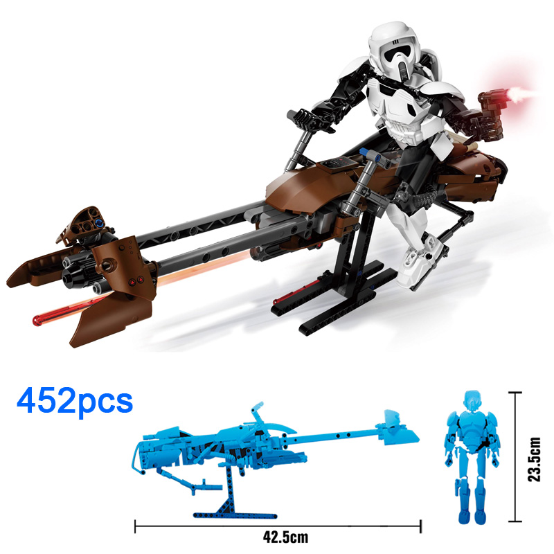 Scout Trooper Bike