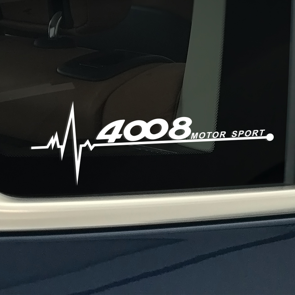 Image 3 - Car Reflective PVC Decor Side Window Sticker For Peugeot 206 307 308 407 207 3008 208 508 2008 301 408 607 4008 5008 Accessories-in Car Stickers from Automobiles & Motorcycles