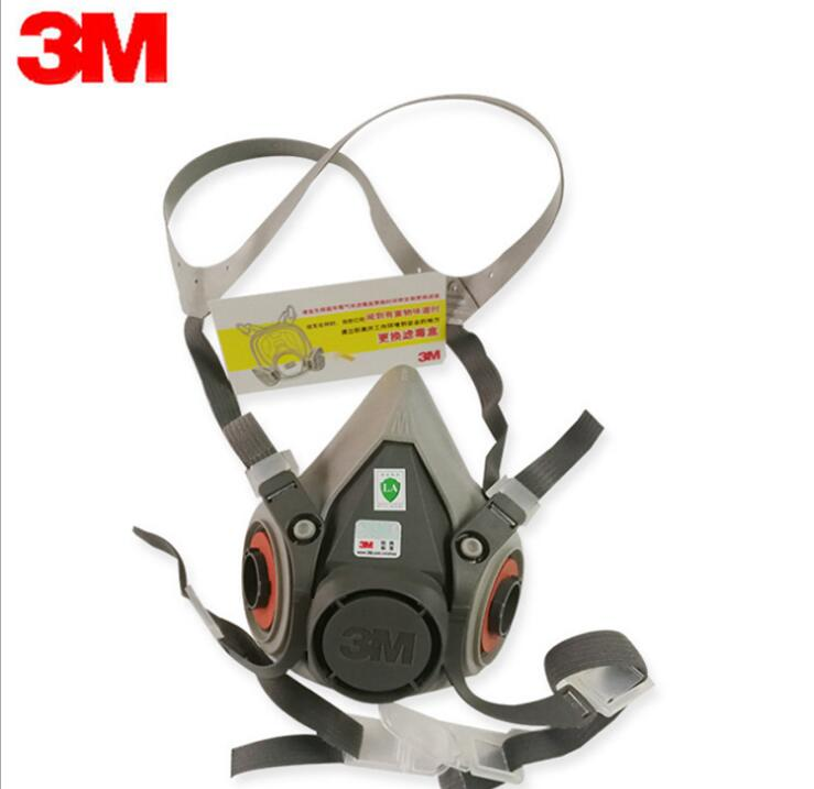 3M 6200 gas masks, labor protection supplies, protection against formaldehyde, half mask, a full range of gas mask. цена