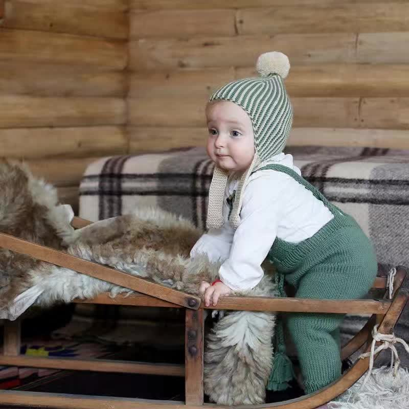 Bebes כובע חורף כובעים בייבי חמוד ילדים - ביגוד לתינוקות