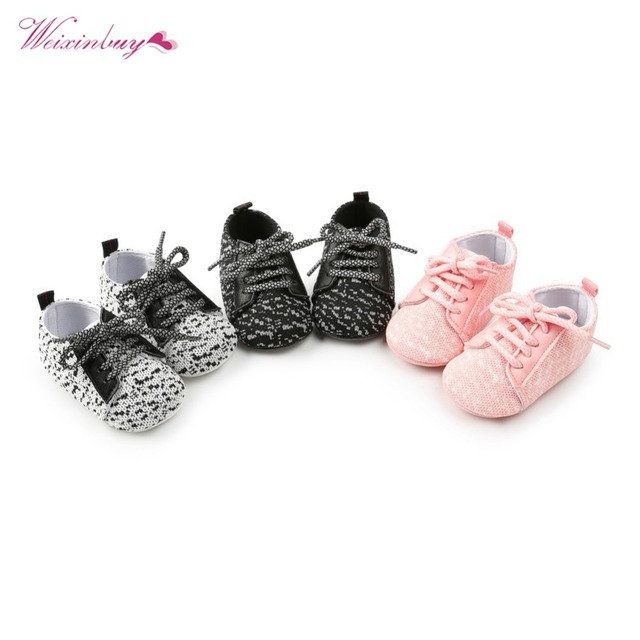 Baby Girl Shoes Riband Bow Lace Up PU Leather Princess Baby Shoes First Walkers Newborn Moccasins For Girls 5