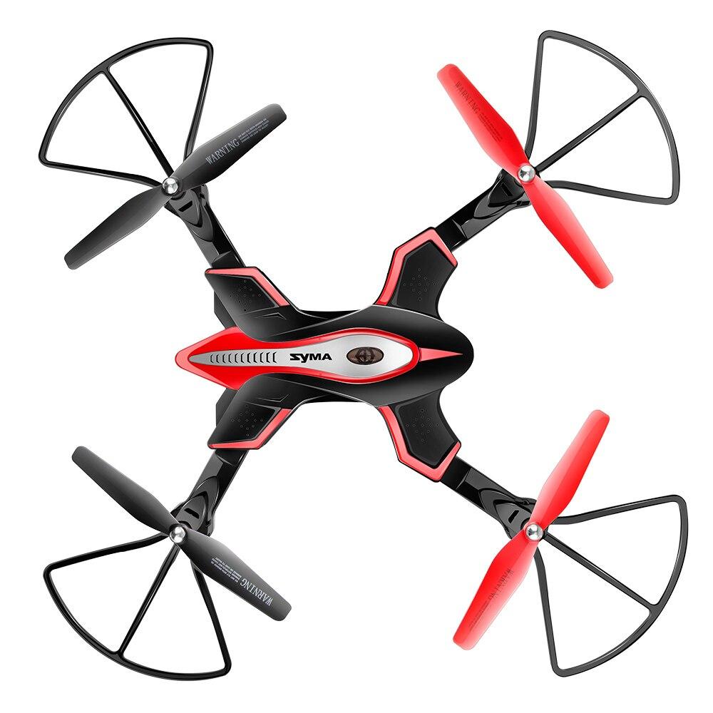 SYMA officiel X56W RC Drone pliant Quadrocopter avec caméra Wifi partage en temps réel lumière clignotante RC hélicoptère Drones avion - 2