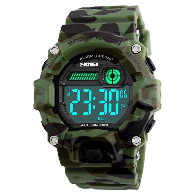 SKMEI Brand Mens Fashion Sport Watches Chrono Countdown Men Waterproof  Digital Watch Man military Clock Relogio ec17f2645a