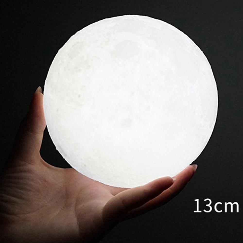 3D USB LED Magical Moon Night Light Moonlight Table Desk Moon Lamp Gift Waterproof DIY Lamp Illuminate Tables Decoration 23Jun 1