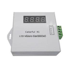 Image 2 - Controlador remoto de música LED X1 DC5 24V, Control táctil inalámbrico por RF, atenuador para tira LED, sueño mágico a todo Color