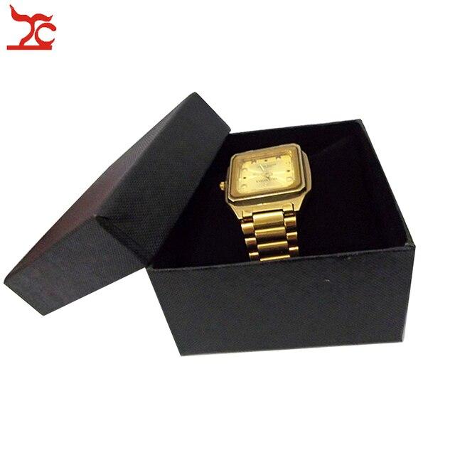5 Pcs Tahan Lama Jam Tangan Kemasan Kotak Hadiah Hitam Gelang Rantai Watch  Pemegang Bantal Case de661eae81