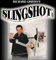 Slingshot (DVD + Gimmick) Magic Tricks Stage Illusion Props Comedy Mentalism Select Card Magie