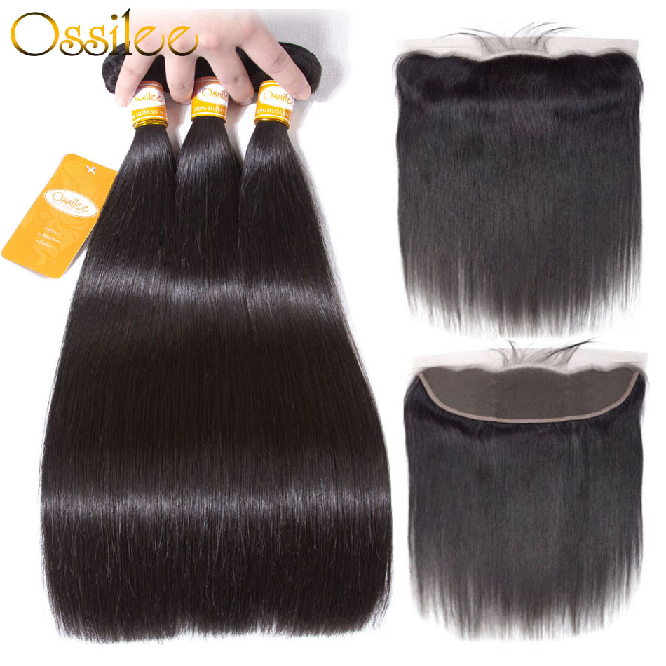 Ossilee 360 Lace Frontal With Bundle Body Wave Bundles With Frontal Malaysian Hair Bundles With Closure Noremy Hair Lace Frontal Human Hair Weaves
