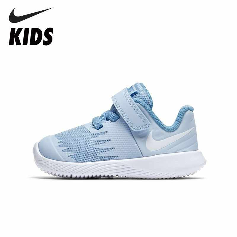NIKE Kids STAR RUNNER (TDV) Official Baby Running Shoes Comfortable Non  Slippery Kids Sports 382bceffa