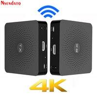 Measy W2H 4 К 30 м HDMI Беспроводной AV аудио видео передатчик Отправитель Получатель радио ТВ трансляции адаптер для ПК ТВ коробка DVD DVR IP ТВ