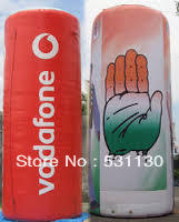 full logo printing inflatable pillar(Height2m)