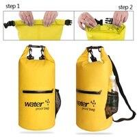 10L 20 LPVC Водонепроницаемый сумка Открытый Дайвинг сжатия хранения сухой бассейн мешок для рафтинг каяк BeachTourism