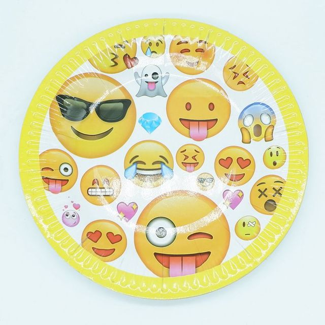 Find The Emoji Wedding.Aliexpress Com Buy 10pcs Lot Emoji Theme Paper Plates Birthday Wedding Party Supplies Decoration Cake Dish Disposable Baby Shower Favors From