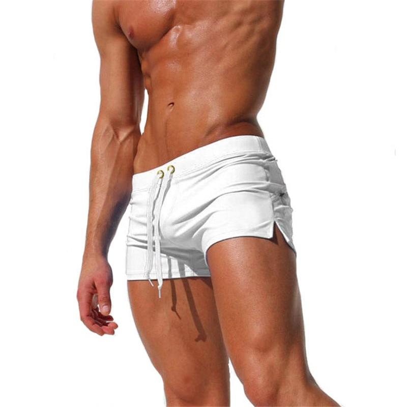 Swim Briefs Beach-Shorts Homenszwembroek Sunga Sexy Mayo Heren