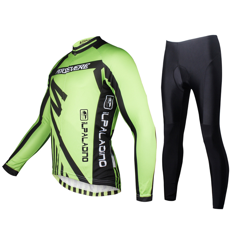 2017 Men Cycling Clothing Sets Breathable Men Bicycle Sport Long Sleeve Bicycle jersey 2017 pro team sets roupa ciclismo S-XXXL