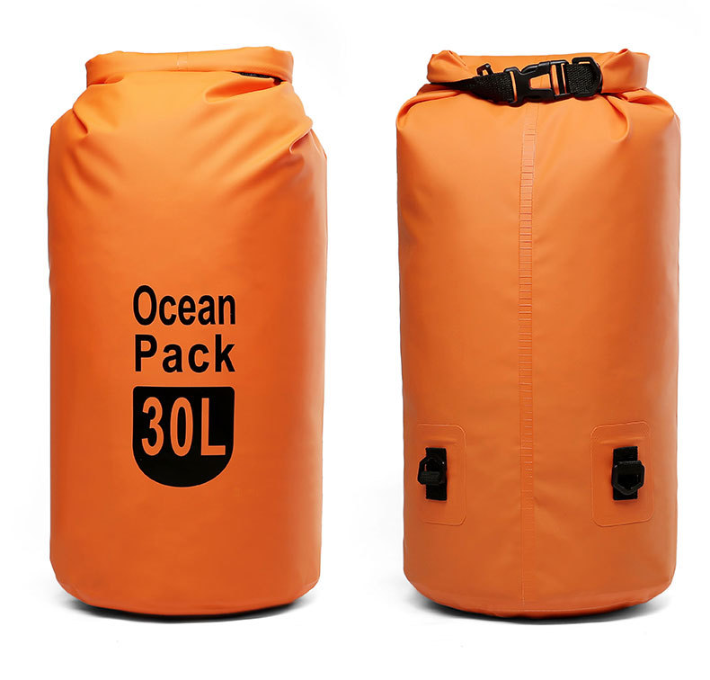 Outdoor PVC Waterproof Storage Dry Sack Bag Rafting Sports Kayaking Canoeing Swimming Bag Travel Kits 5L 10L 15L 20L
