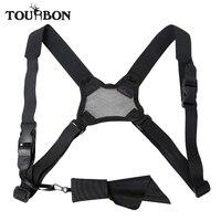 Tourbon Hunting Mesh Binocular Strap Camera Carrier Elastic Durable Nylon