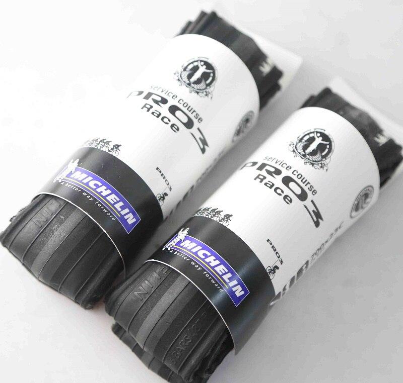 2PCS Michelin Pro 3 Race Road Bike Tyre Pro3 Folding 700 x 23