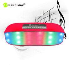 NewRixing NR-2014 Mini Bluetooth Music Speakers Portable Wireless Speaker Support Phone Calls Talking TF Card USB FM Players