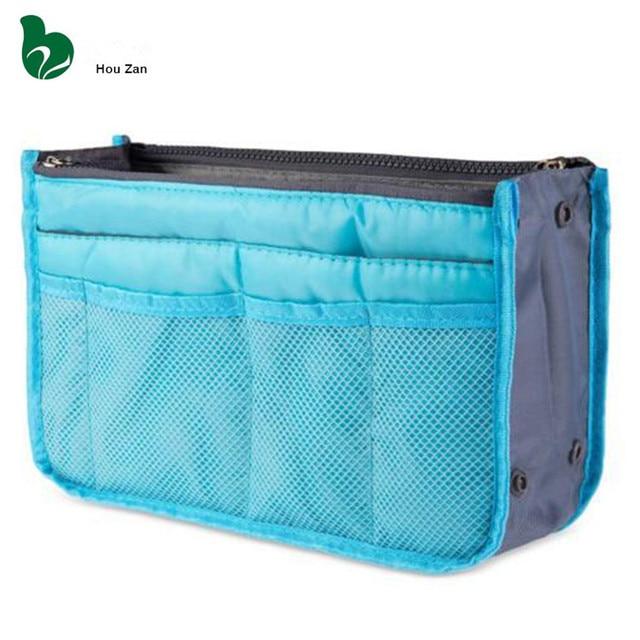 Handbag Organizer Toiletry Kits Travel Necessaire Women Neceser Cosmetic Bag Vanity Case Make Up Makeup Box Suitcase Pouch Zebra