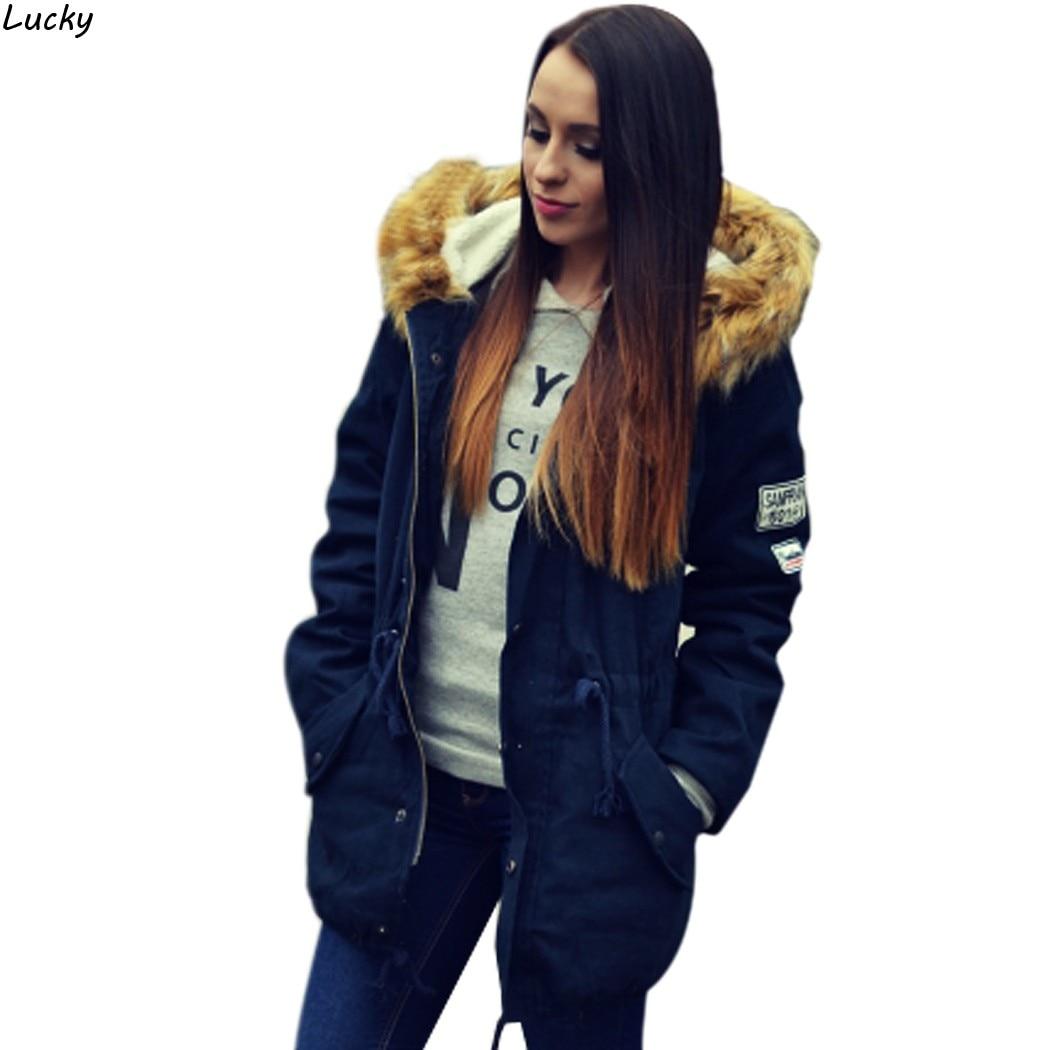 Navy Fur Hood Jacket Promotion-Shop for Promotional Navy Fur Hood ...