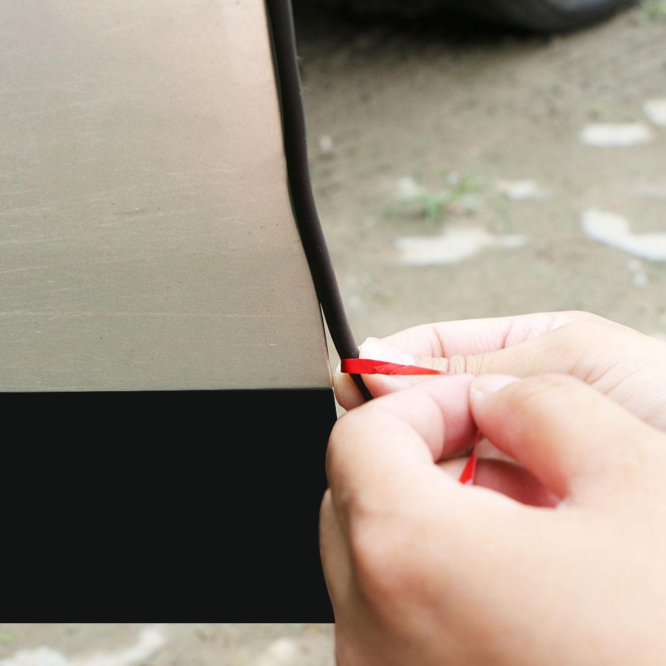 Coche Borde de puerta cero Protector de para Peugeot 206, 207, 208, 301, 307, 308, 407, 408, 508, 2008, 3008, 4008 pegatinas Cubierta transparente para faros delanteros, Pantalla para lámpara, máscara transparente para lente de faros para Peugeot 508 2011 2012 2013 2014