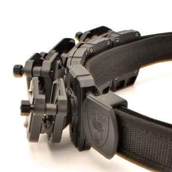 IPSC USPSA High Speed Shooting Belt w/4x Multi-Angle Speed Pistol Magazine Mag Pouch