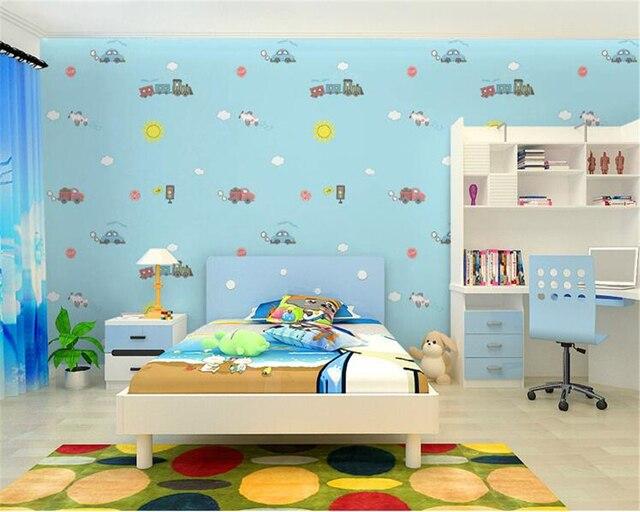 Beibehang Kertas Dinding Rumah Dekorasi R Anak Wallpaper Lucu Gadis Tidur Latar