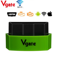 Vgate iCar3 Wifi Elm327 Wifi Support OBDII Protocols Cars iCar 3 ELM 327 Code Reader for Android/ IOS/PC With 5 Colors Optional