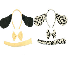 3Pcs Headband Dress Dog