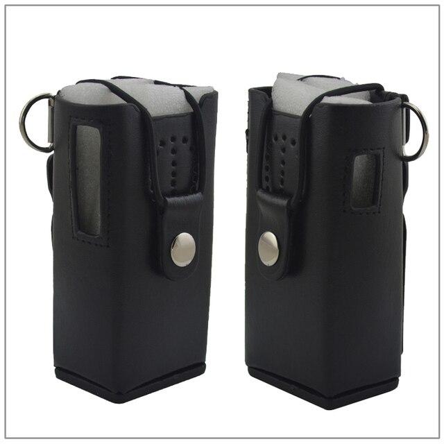 Stylo Étui en cuir avec clip de ceinture et Sangle pour talkie walkie  Kenwood TK- 1390a66c74e