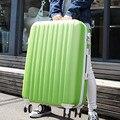 YISHIDUN men ABS+PC women travel suitcase bags universal wheels Candy colors trolley rolling luggage bag Mute valiz 20 24 28