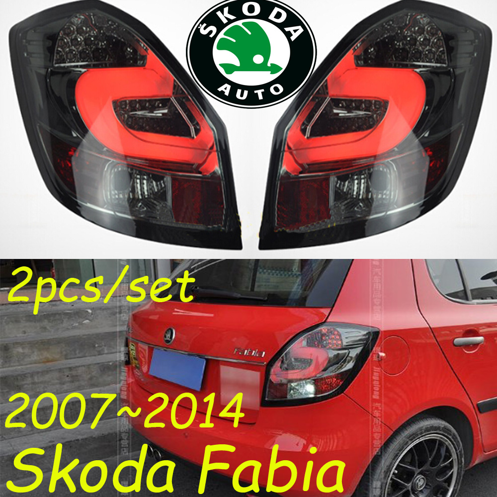 Fabia taillight,2007~2014;Free ship!LED,2pcs/set,Fabia rear light,Octavia fog light;Superb,Octavia,Fabia fabia greenline в украине