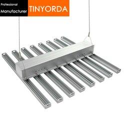 Tinyorda TGL3526A 8 в 1 (0,6 м длина) 320 Вт Led Grow Light корпус для комнатной посадки свет профиль DIY Grow Light Heatsink
