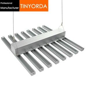 Tinyorda TGL3526A 8 W 1 (0.6M długości) 320W oświetlenie led do uprawy obudowa kryty sadzenia profil światła DIY oświetlenie do uprawy radiator