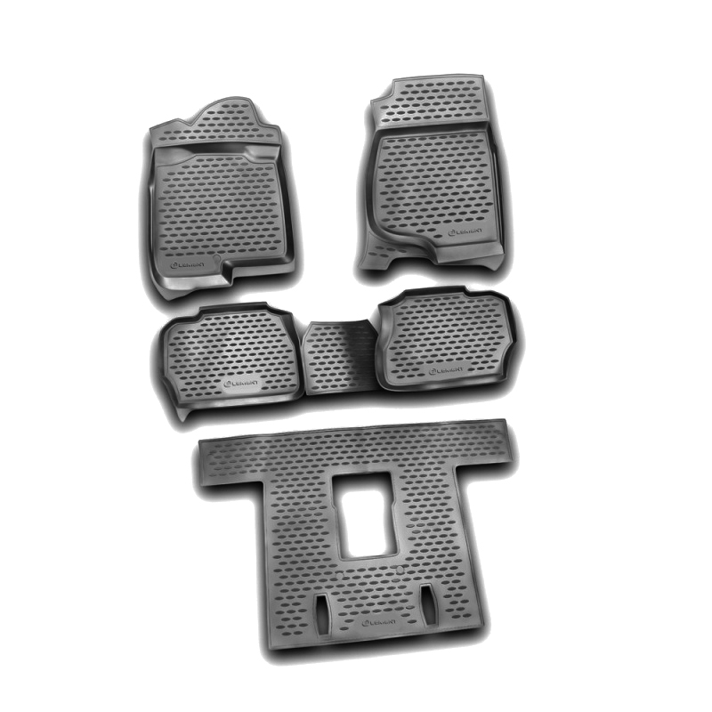 Mats in the salon For CADILLAC Escalade 06/2006-2015, 5 PCs (polyurethane) mat trunk for cadillac escalade 06 2006 2015 внед polyurethane
